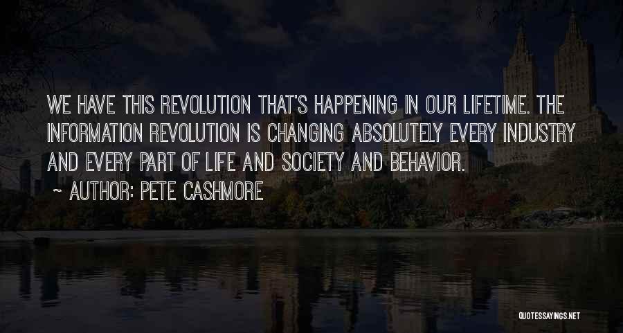 Pete Cashmore Quotes 1552500