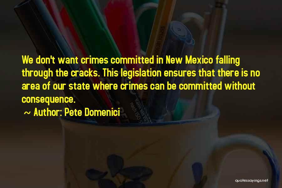 Pete Domenici Quotes 1005731