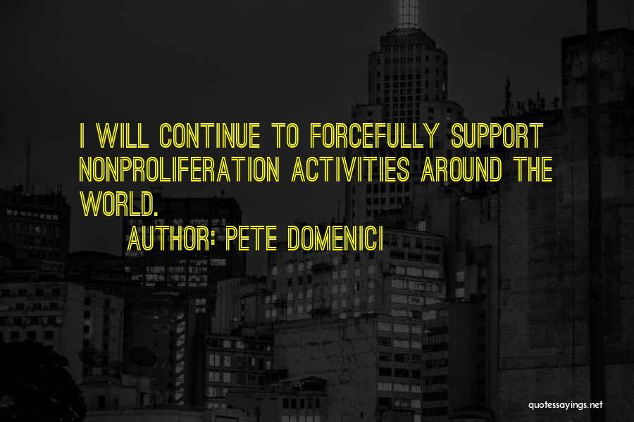 Pete Domenici Quotes 1922547