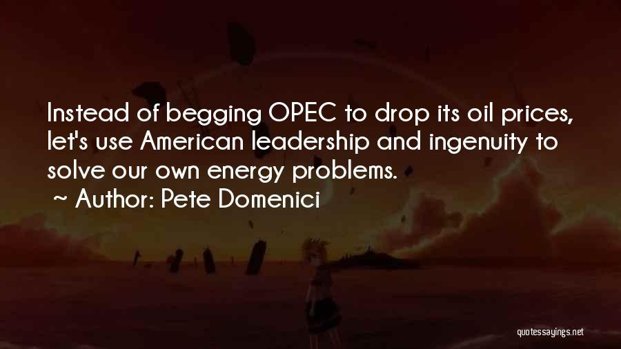 Pete Domenici Quotes 948378