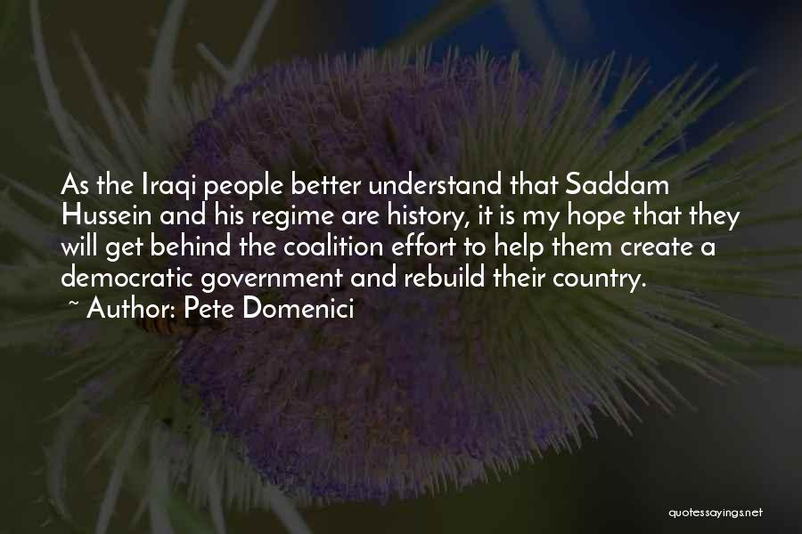 Pete Domenici Quotes 978064