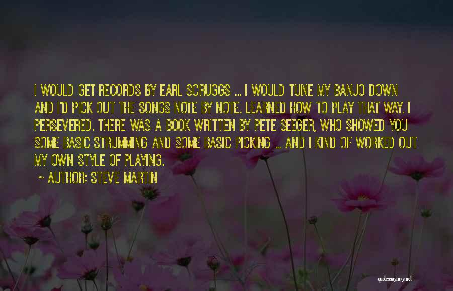 Pete Seeger's Quotes By Steve Martin