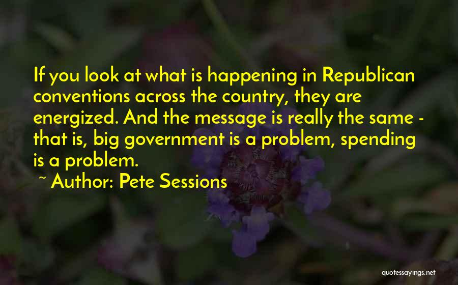 Pete Sessions Quotes 195170