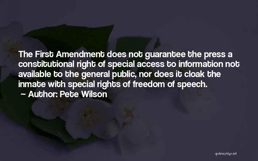Pete Wilson Quotes 1949652