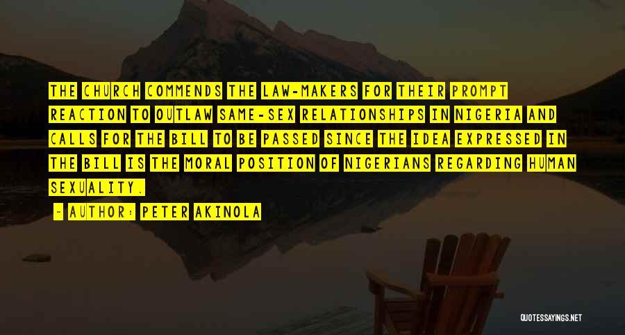 Peter Akinola Quotes 1126582