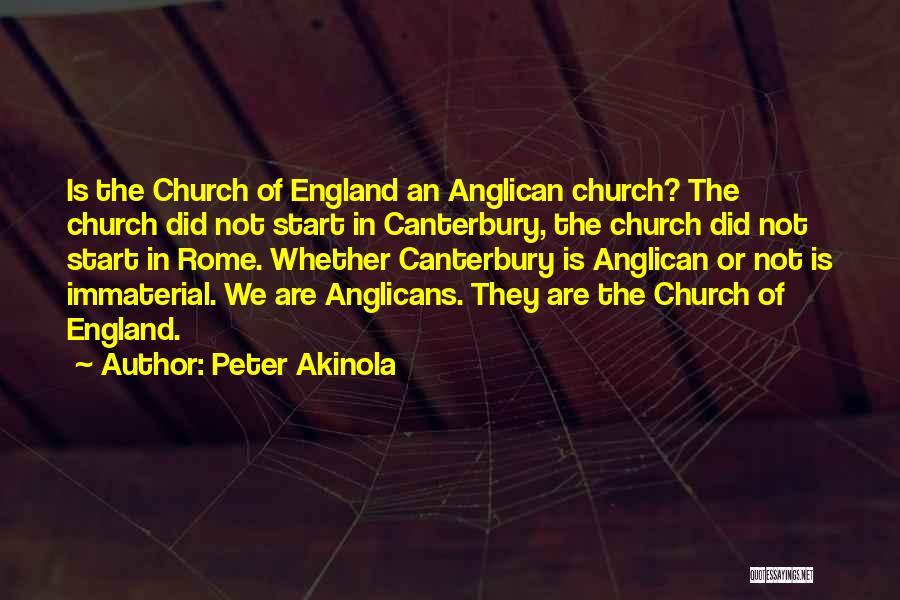 Peter Akinola Quotes 1730688