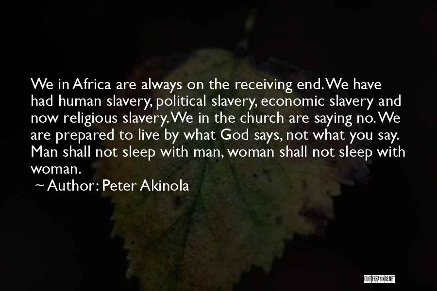 Peter Akinola Quotes 1971859