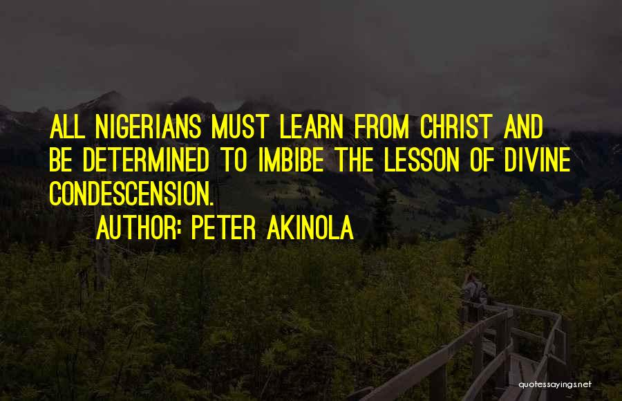 Peter Akinola Quotes 247626