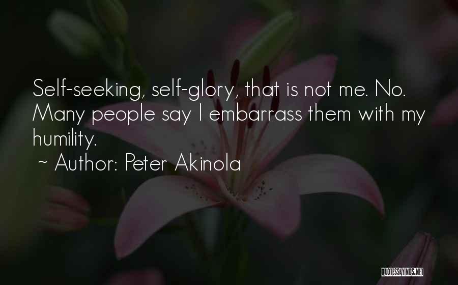 Peter Akinola Quotes 785703