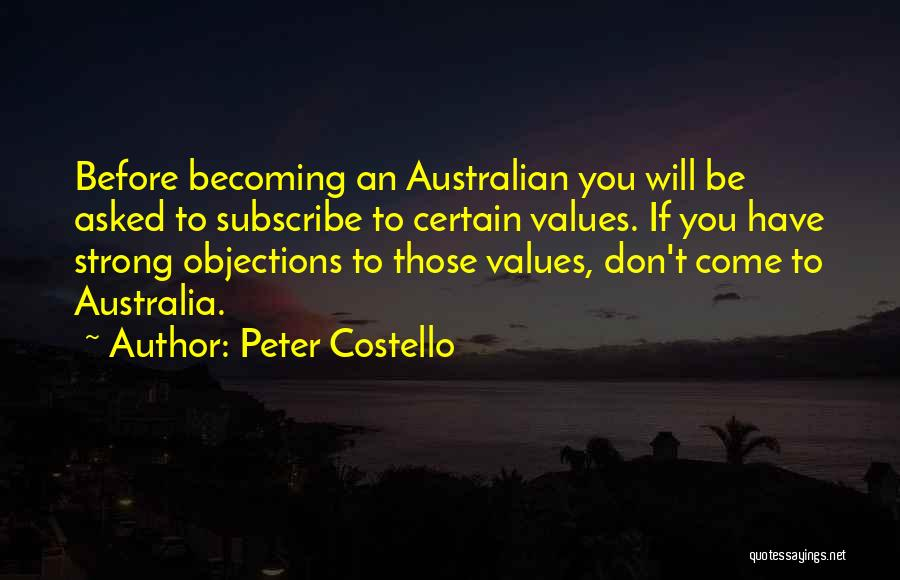 Peter Costello Quotes 179332