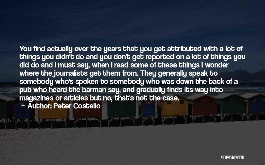 Peter Costello Quotes 1891673