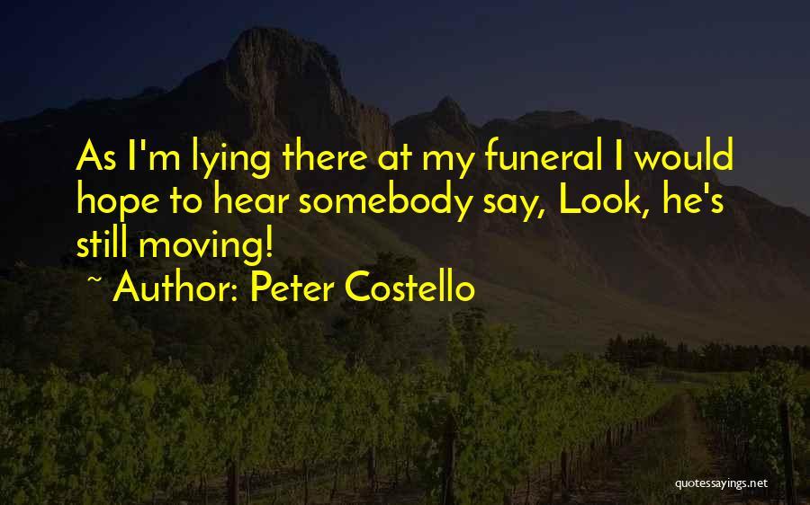 Peter Costello Quotes 461046