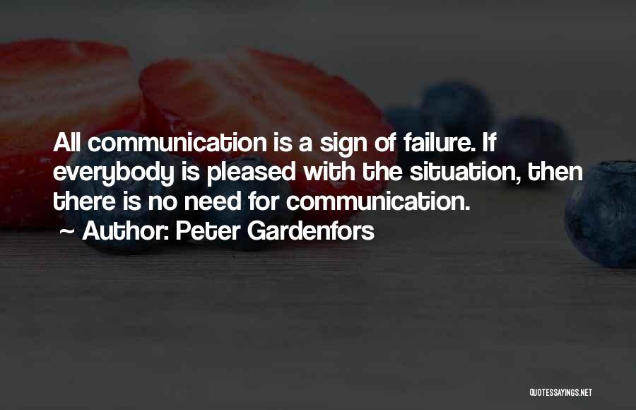 Peter Gardenfors Quotes 711187