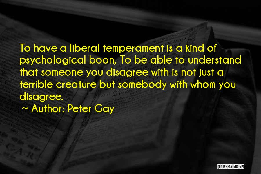 Peter Gay Quotes 100527