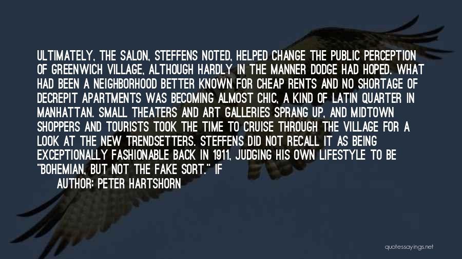 Peter Hartshorn Quotes 190498