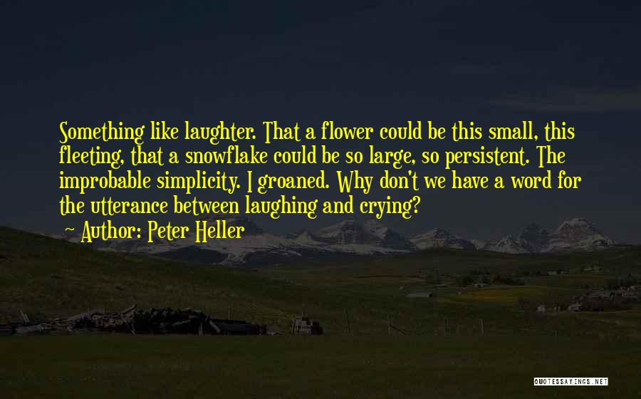 Peter Heller Quotes 1730214