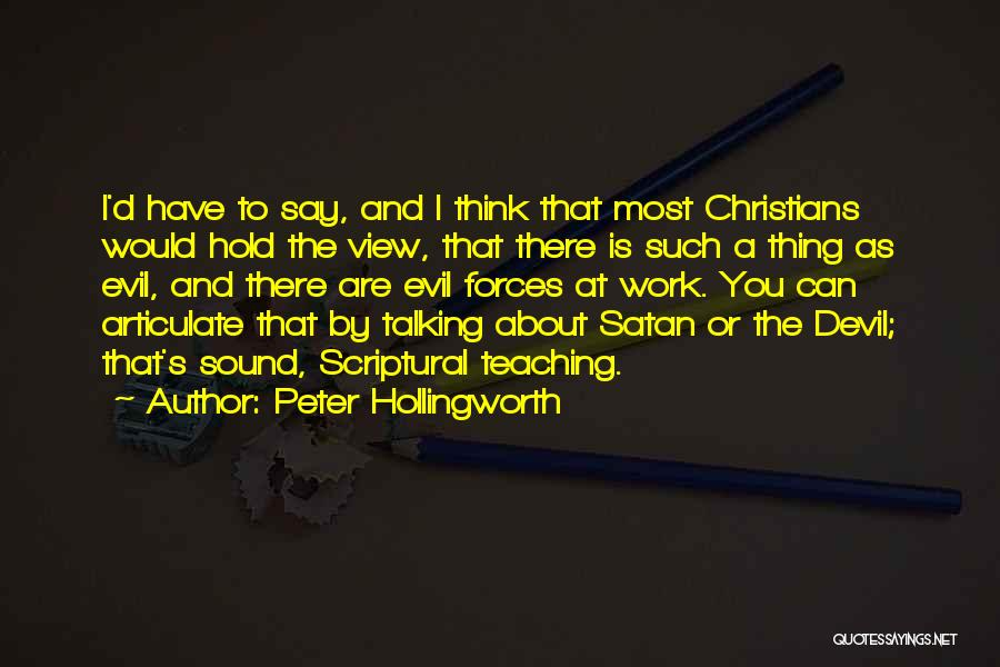 Peter Hollingworth Quotes 678946