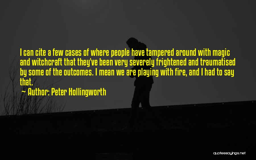Peter Hollingworth Quotes 874170