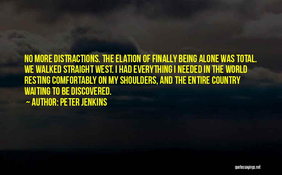 Peter Jenkins Quotes 1054158
