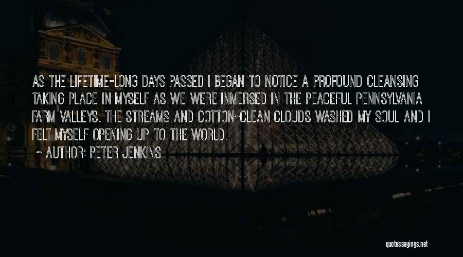 Peter Jenkins Quotes 244831
