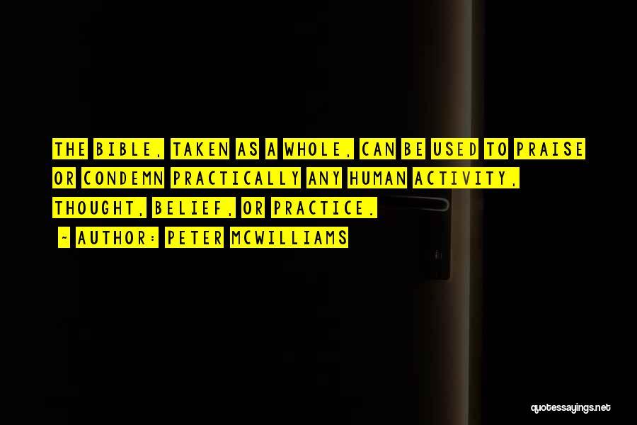 Peter McWilliams Quotes 451683