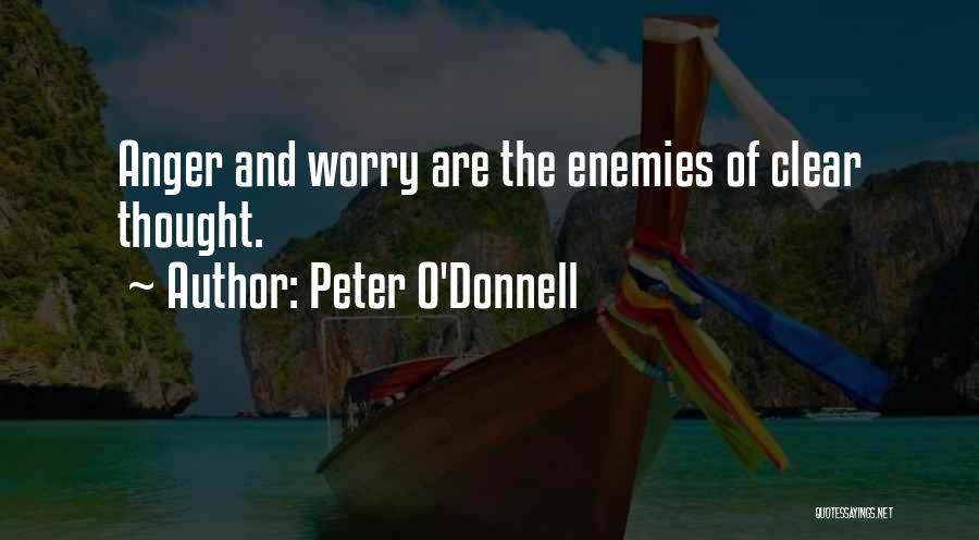 Peter O'Donnell Quotes 492460