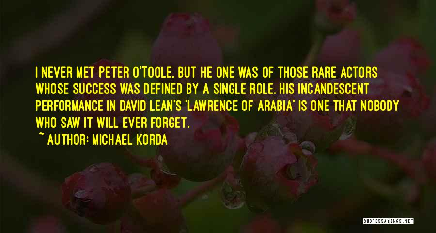 Peter O'sullivan Quotes By Michael Korda