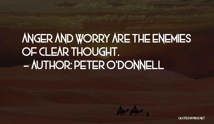 Peter O'sullivan Quotes By Peter O'Donnell