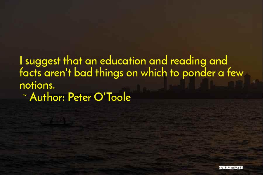 Peter O'sullivan Quotes By Peter O'Toole