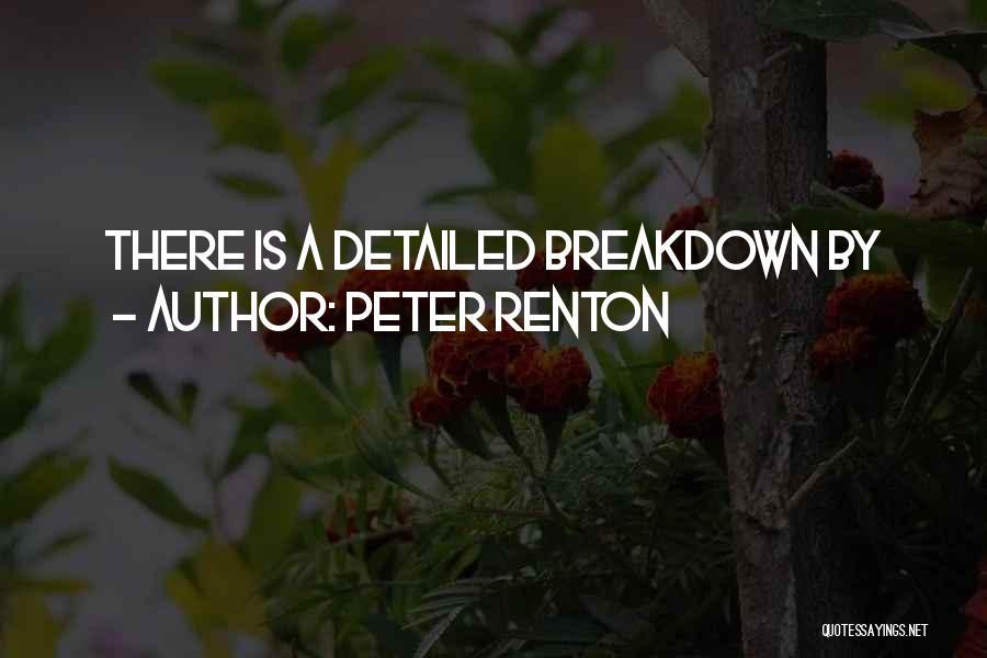 Peter Renton Quotes 201654