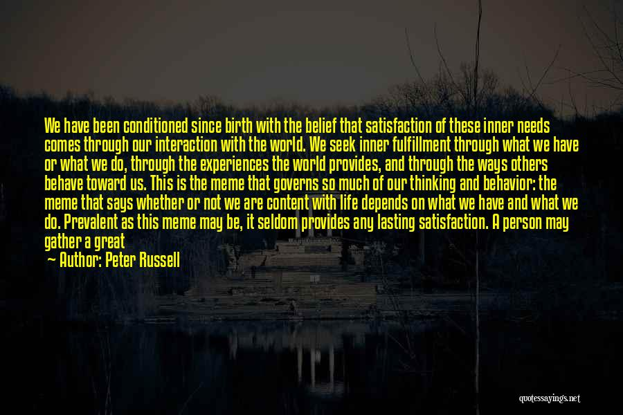 Peter Russell Quotes 489092