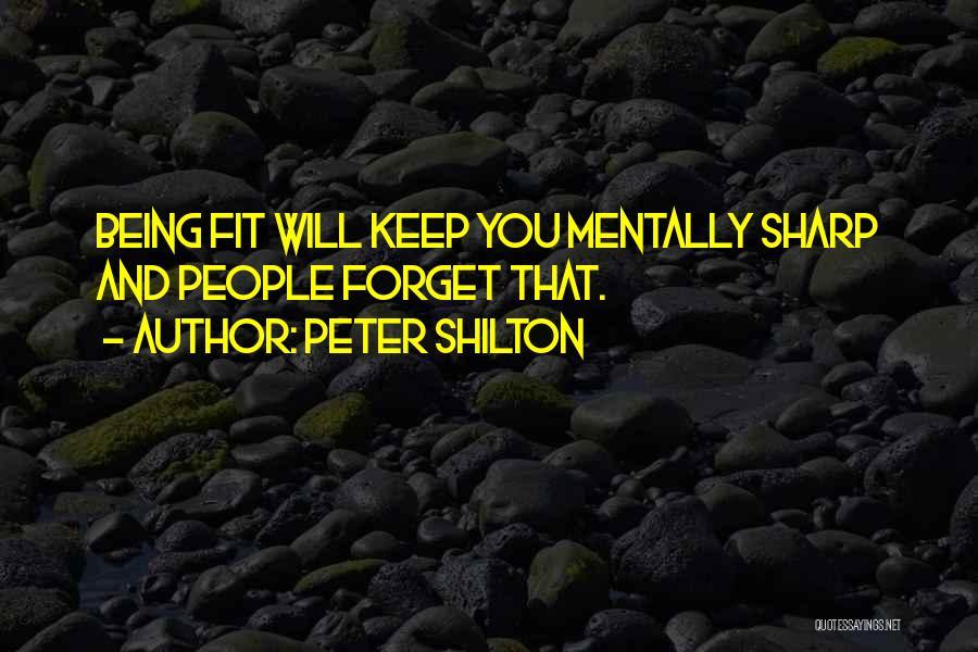 Peter Shilton Quotes 1330237