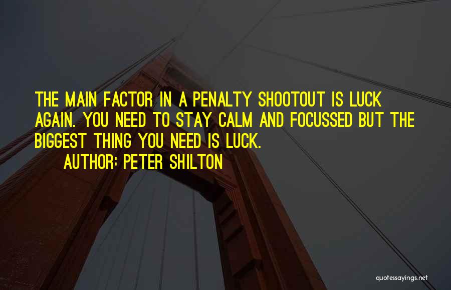 Peter Shilton Quotes 1796159