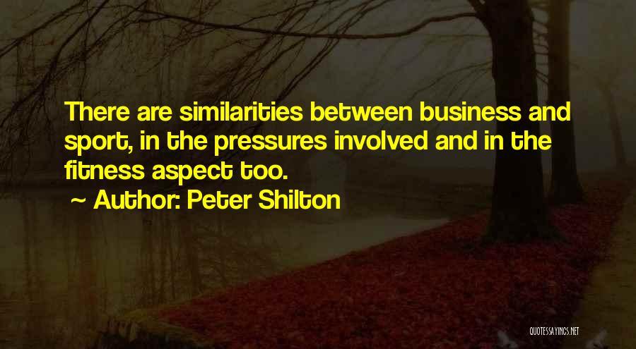 Peter Shilton Quotes 213893