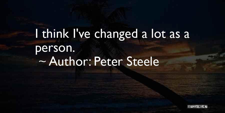 Peter Steele Quotes 1710668