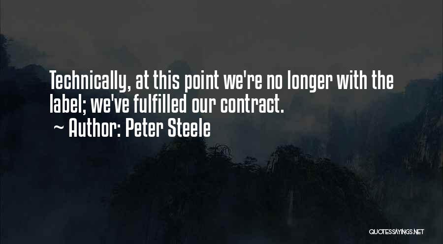 Peter Steele Quotes 1753454