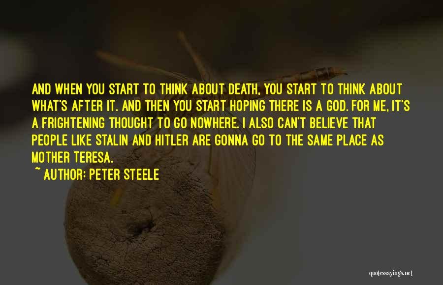 Peter Steele Quotes 1973591