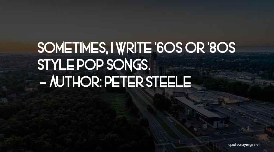 Peter Steele Quotes 246486