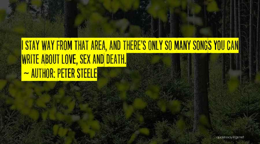 Peter Steele Quotes 404969