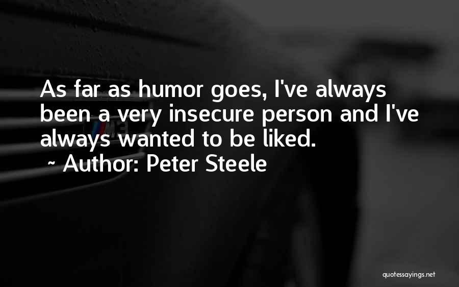 Peter Steele Quotes 413844