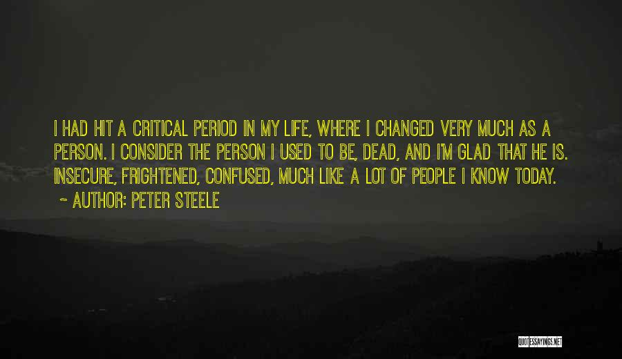 Peter Steele Quotes 576955