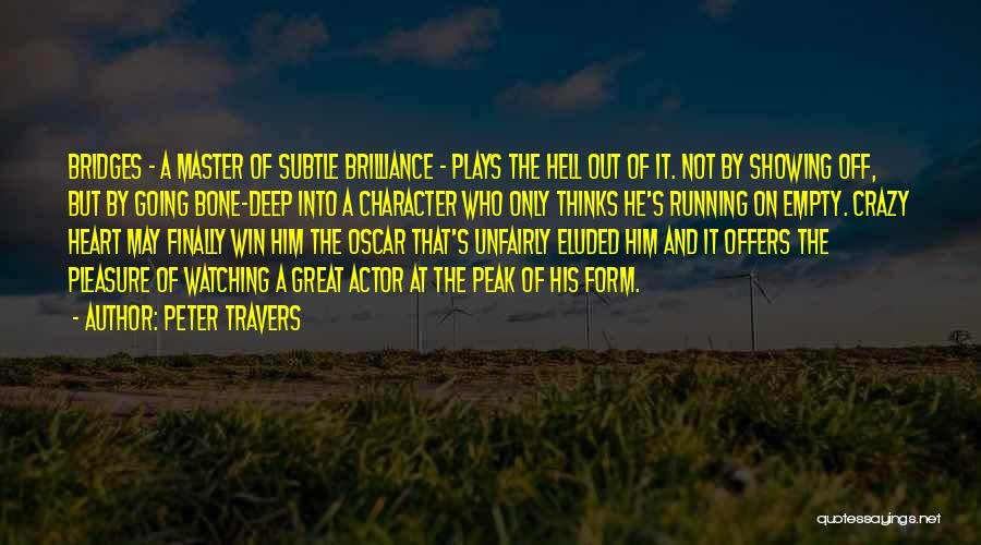 Peter Travers Quotes 1576481