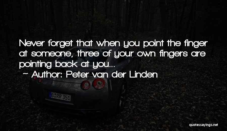 Peter Van Der Linden Quotes 285834