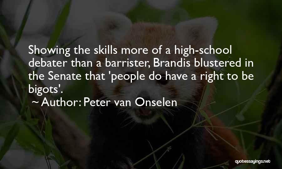 Peter Van Onselen Quotes 1368213