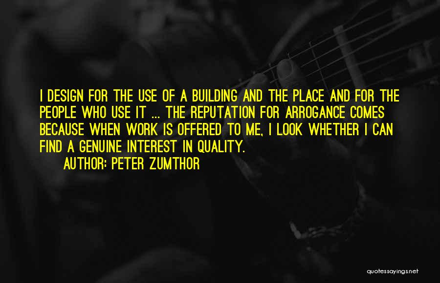 Peter Zumthor Quotes 1441538
