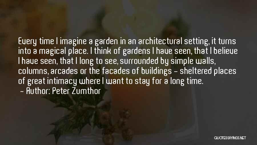 Peter Zumthor Quotes 1891759