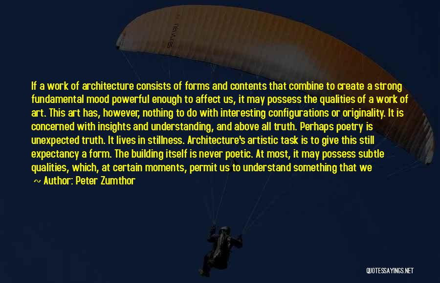 Peter Zumthor Quotes 2178910