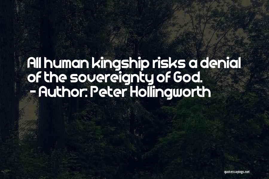 Peter's Denial Quotes By Peter Hollingworth