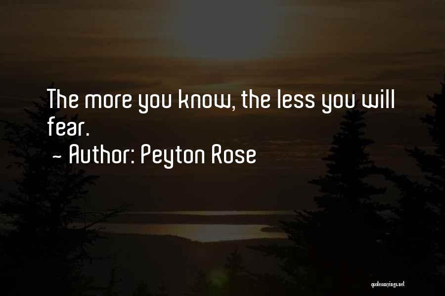 Peyton Rose Quotes 396231