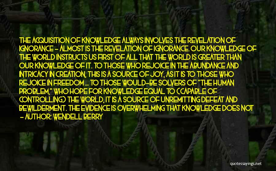 Pg-13 Quotes By Wendell Berry